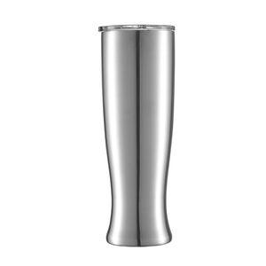 فنجان القهوة 30Oz الفولاذ المقاوم للصدأ Pilsners مكتب البهلوان الرئيسية البيرة القدح الشاي القدح كأس جميل زهرية مع غطاء حافظ الباردة الحرارية كأس VT0672