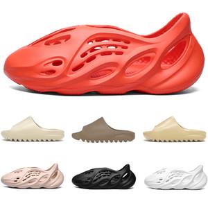 Slides sandali Triple Black White Flip Flops Deserto Bone Sabbia Resina Beach Mens Womens pantofole Size 5-11 Drop Shipping