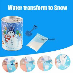 Künstliche schnee instant schneepulver flauschige schneeflocke super saugfähig gefroren party magic prop weihnachtsfeier dekor spielzeug