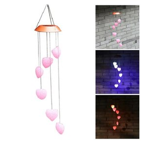 LED Christmas Wind Chime Garden Decoration Aeolian Bells Home Hotel Restaurant Xmas Decorations