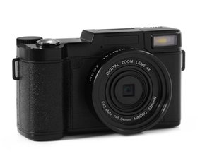 New 24MP HD Half-DSLR Professionelle Digitalkameras mit 4-fach Tele, Fisheye Weitwinkel-Objektiv-Kamera-Makro HD-Kamera