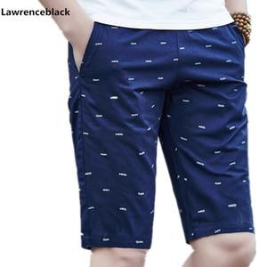 Lawrenceblack Marca Pantalones Cortos de Los Hombres de Verano Para Hombre Pantalones Cortos de Playa de Algodón Pantalones Cortos Masculinos Homme Bermuda Masculina Plus Tamaño 5XL 979