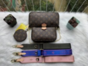 2020 hot fashion women handbag shoulder purse designer bags handbag wallet phone bags Three-piece combination bags M44813 fast shpping