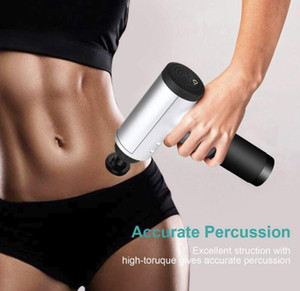 US STOCK Massage Gun Professional Deep Tissue Body Massager for Muscle Tension Relief with 4 Massage Head FY0027