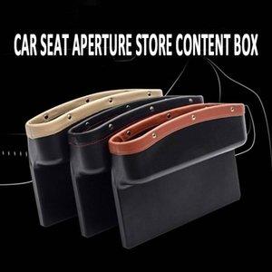 Livraison gratuite Yentl Chine usine vente directe rabais Car Seat Gap emplacement de stockage Organisateur de poche en cuir 1Pc Box Car Pocket Caddy
