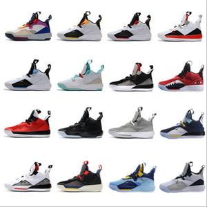 2019 новое прибытие Jumpman XXXIII 33 баскетбольная обувь мужская 33s золото/чемпионат MVP финалы кроссовки спортивные кроссовки размер 40-46