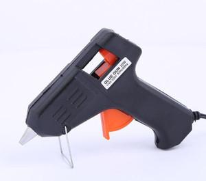 Nova Chegada 20W elétrica Glue Gun Aquecimento pistola de cola quente Artesanato Album D7mm Repair