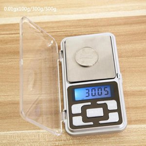 200g / 300g/500g x0. 01g мини электронные весы карманные цифровые весы высокая точность подсветка весы для взвешивания ювелирных изделий