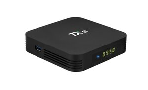 TX8 Andriod 9.0 TV Box 4GB 32GB RK3318 Smart TV Box 2,4G / 5G WiFi, Bluetooth 4.0 Smart TV Box