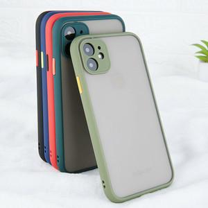 Kamera-Objektiv-Schutzhüllen für iPhone 11 Pro Max XR X 7 8 Plus iPhone11 Matte Stoß- harter Telefon-Rüstung Zurück Covers