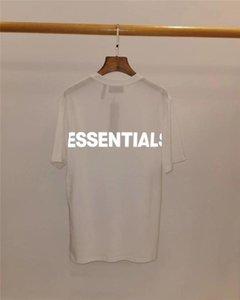 Yeni 3M Yansıtıcı SİS Essentials Tişört Erkekler Wome En Kaliteli Essentials T shirt En Tees harajuku