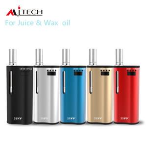 Best selling 2 in 1 vape box mod 650mAh E Zigaretten Kit 5s vv Wachs Vaporizer Batterie