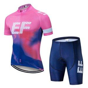 EF Team Pro Jersey Set Men Vêtements de vélo Vêtements manches courtes Vélo Uniforme Route été Northwave Ropa Ciclismo Maillot