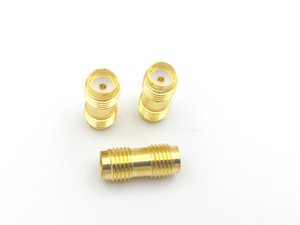 1000PCS Gold Plated SMA female to SMA female jack in series RF coaxial adapter