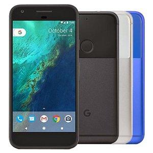 Original Refurbished Google Pixel XL 5.5 inch Quad Core 4GB RAM 32GB 128GB ROM 12.3MP Unlocked 4G LTE Smart Phone DHL 5pcs