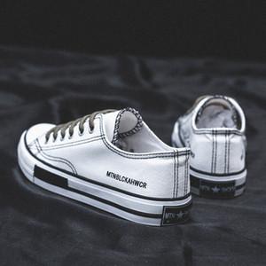Femmes Mode Automne Plimsolls Chaussures de toile Low Cut Little White Chaussures Casual coréenne Skate Sneakers Ulzzang Femme Printemps Chaussures Conseil