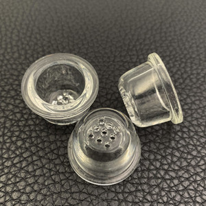 Ersatzglasschirm-Schüssel für Silikon-Rohr Honeycomb Glasschale für Löffel Rohr hohe Borosilikatglas Mesh-Bowl Raucherzubehör