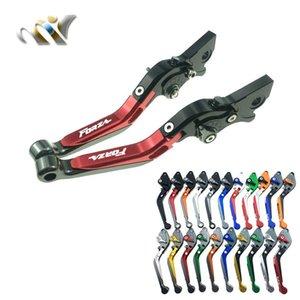 Fit Pour Forza 300 125 250 Sh300 MT13 NSS300 réglable d'embrayage de frein Extension Pliable Levers Guidon Accessoires moto