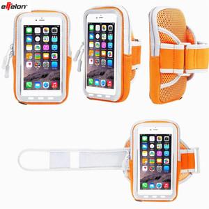 Effelon 5 S 6 6 S 7 Artı Kir-dayanıklı El Çantası koşu Kol Bandı Deri Kılıf iphone Cep Telefonu Tutucu Kılıfı Kemer GYM Kapak