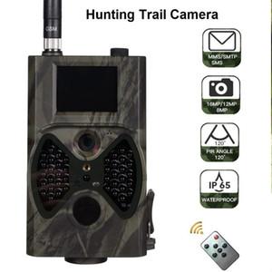 선텍 HC300M 사냥 트레일 카메라 GSM MMS 12MP 1080P 사진 트랩 나이트 비전 야생 동물 사냥꾼 termovision 카메라 샤쓰 스카우트