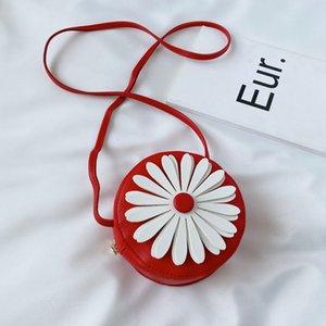 6styles Kids Handbags Baby Girls Mini Priness Purse Floral Print Cross-body Shoulder Bags Flower Snacks Coin Bags new GGA3524