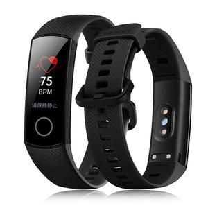 Orijinal Huawei Onur Band 4 NFC Akıllı Bilezik Kalp Hızı Monitörü Akıllı İzle Spor Izci Android iPhone Için Sağlık Akıllı Kol Saati iOS
