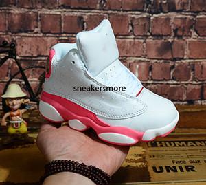 Детская баскетбольная обувь дети J13s высокое качество спортивная обувь молодежные баскетбольные кроссовки для продажи размер: US11C-3Y EU28-35