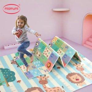 Miamumi portatile del gioco del bambino Mat XPE Foam Double Sided Playmat Home Gioco Puzzle Coperta pieghevole Tappetino per i neonati bambini Tappeto CJ191220