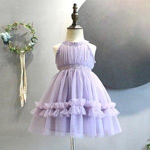 Girls Dress Baby Clothing Children Petticoat Purple Children's Clothing Girl Party Dress Princess Wedding Baby Girls