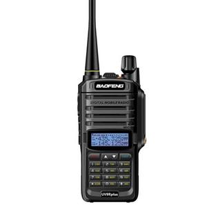 Baofeng UV-9R Além disso 10W Atualize Radio Version Two Way VHF UHF Walkie Talkie para CB Ham Plug UA - Plug UE