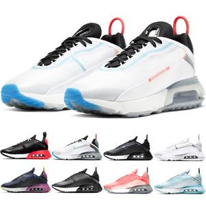 Nike Air Max 2090 Chaussures de course Hommes Femmes Hommes Baskets Stock X Pure Platinum Duck Camo Bred Triple Noir Blanc Haute Qualité Sport Sneakers Taille 36-45