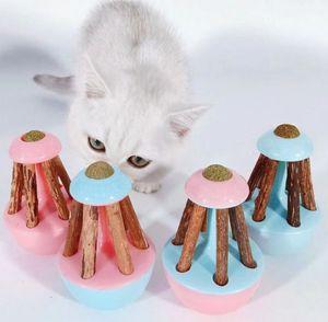 Son pet oyuncak ahşap tumbler kedi oyuncaklar seçilebilir 4 renkler, olursa olsun nasıl kedi oynar