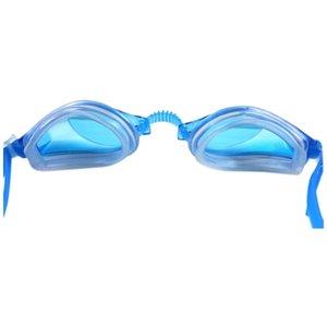 gözlük dalış gözlüğü, buğu önleyici Goggles yüzme Moda mavi çocuk