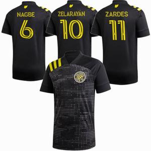 2019 2020 콜럼버스 축구 유니폼 MLS NAGBE ZELARAYAN ZARDES 승무원 SC 20 명 (21) 축구 남성과 어린이 셔츠