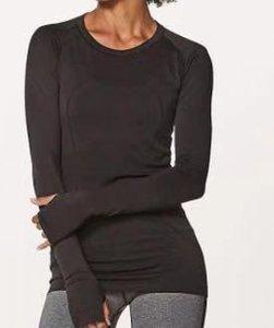 2019 Swiftly Tech Long Sleeve Crew Lu Gym Women Fitness T Shirt Woman Long Sleeve Yoga Top Womens Gym Tops Sport Wear Women GYM Running Top