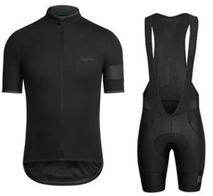 2019 Pro Team Rapha Cycling Jersey Ropa Ciclismo Road Bike Ropa Ropa Bicicleta Ropa de verano Manga corta Camisa de montar XXS-4XL