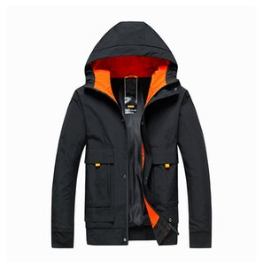2019 Autumn And Winter New Products Jacket MEN'S Outerwear Youth Hooded Men's Casual Jacket