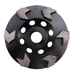 5Inch diamante de pulido Copa rueda para el hormigón amoladoras angulares de 5/8 pulgadas -11 Hilos