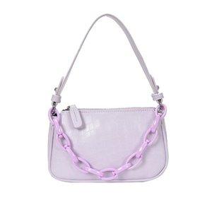 Piccola borsa femminile 2020 nuova moda borsa crossbody selvaggia trama ascella Francese