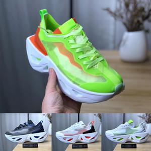 Новый 2019 Zoomx Vista Grind Обувь Wmns Zoom X Segida Обувь Вольт Черный Серый Парус Свет Кости Обувь для бега Размер 36-44 С Коробкой