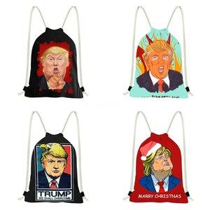 Şeffaf Trump Sırt Çantası 2020 Yeni Moda Eşarp Vahşi Çanta Retro Küçük Yuvarlak Çanta # 278