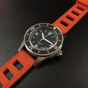 STEELDIVE 1952 Prima Dive Watch-Fifty Fathoms acciaio del World Diving Guarda 300m Mens Automatico Orologi Meccanici Sapphire