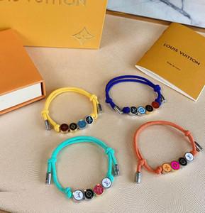 corda superiore qualità dei materiali String Infinity simbolo colori braccialetto registrabile con PS9205 stringa di nylon