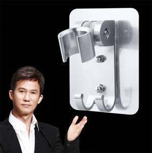 non alluminio spazio piatto doccia perforato incollato con docce basamento doccetta soffione regolabile base di testa 6036