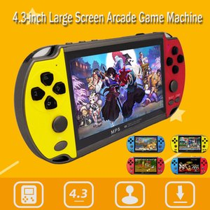 5 Renk X7 Plastik Eğlence 4.3 inç Çift Rocker El USB Video Oyun Konsolu Şarj edilebilir 8GB TV Çıkışı VS X7 Artı