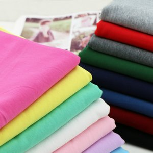 170*50cm 95% Cotton 5% Spandex Lycra Knitted Sweater Fabric make Spring Summer Sportswear dress Cloth High Elastic 370g m