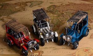 Ferro Toy Model Car, Classic Vintage Automobile, simulazione, vari colori, per l'anniversario, regalo Kid 'compleanno', raccogliere, Decorazione