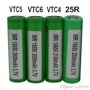 SONY Samsung 25R için 100% En yüksek kalite VTC4 VTC5 VTC6 18650 Pil 25000 3000 mAh 3.7 V 18650 Piller Şarj Edilebilir Lityum