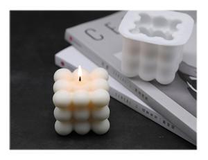 DIY Kerzen Mold Sojawachs Kerzen Form Aroma Gips Kerze 3d-Silikon-Form handgemachte Soja-Kerzen Aroma Wachs Seifen-Formen