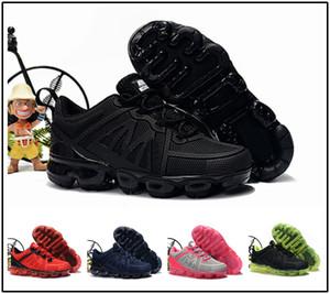 nike air max airmax vapormax 2019 bebê criança KPU Tricô VM Portátil Crianças Sapatos de Corrida Crianças 2018 almofada Sapatos de Esportes Meninos Meninas Tênis De Treinamento